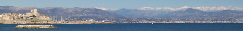 Antibes and the Mediterranean Sea